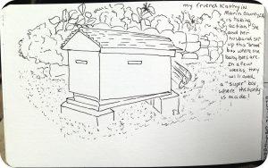 bee box with corners
